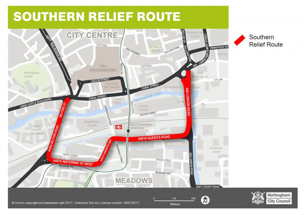 Southern relief route