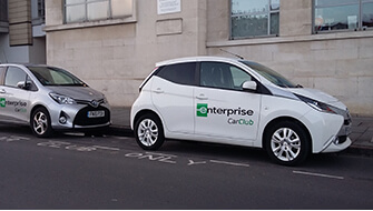 Enterprise car club cars