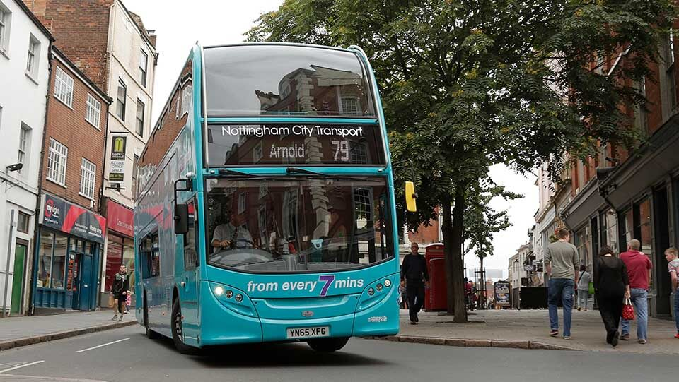 Bus to be retrofitted
