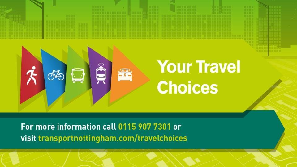 Travel choices Nottingham