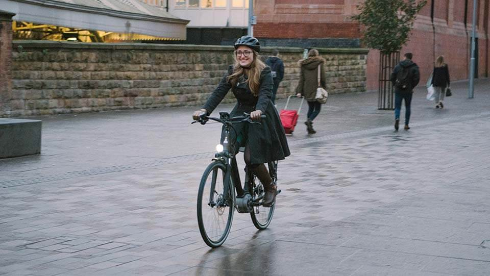Electric bike in Nottingham