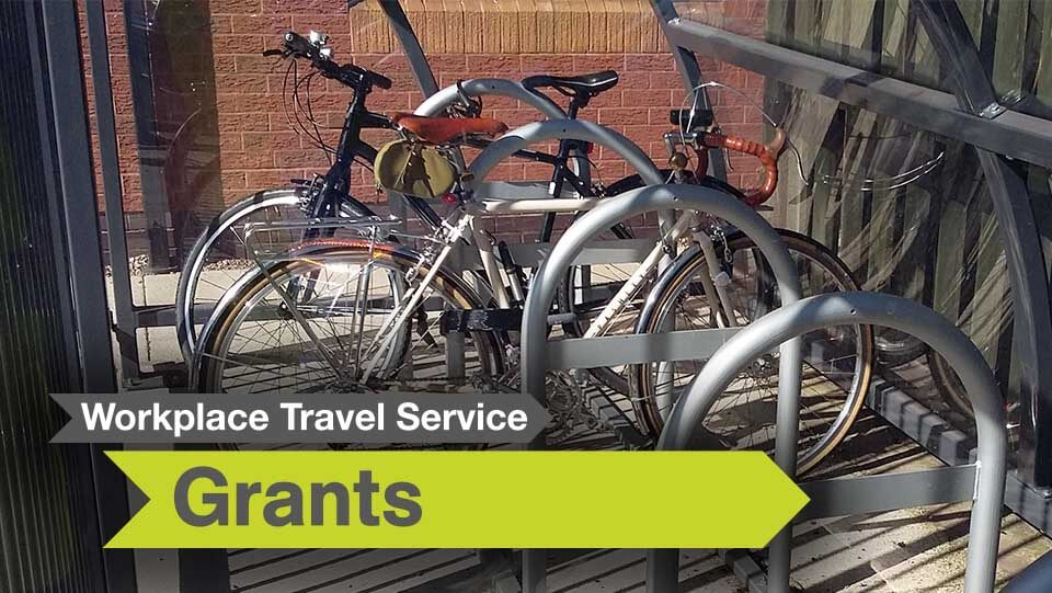 Workplace travel service grants