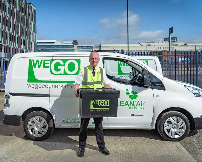ULEV Experience Wego couriers