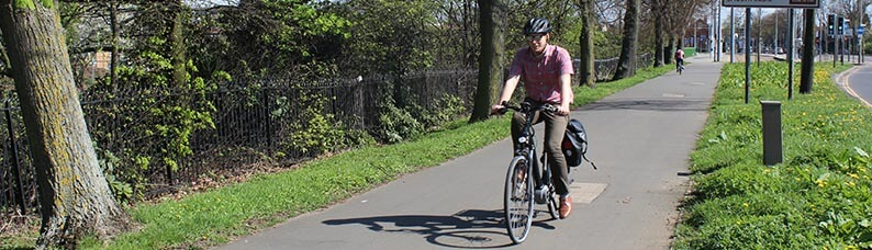 Electric bikes in Nottingham