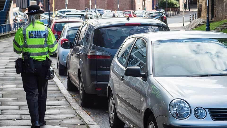 On street parking Nottingham