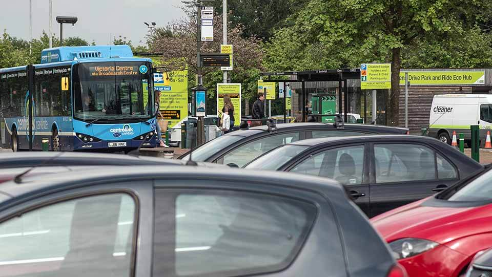 Nottingham park and ride