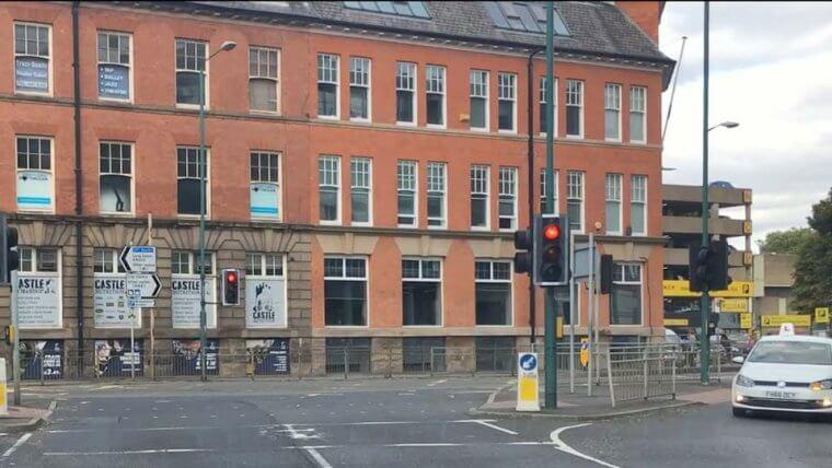Wilford Street works Broadmarsh