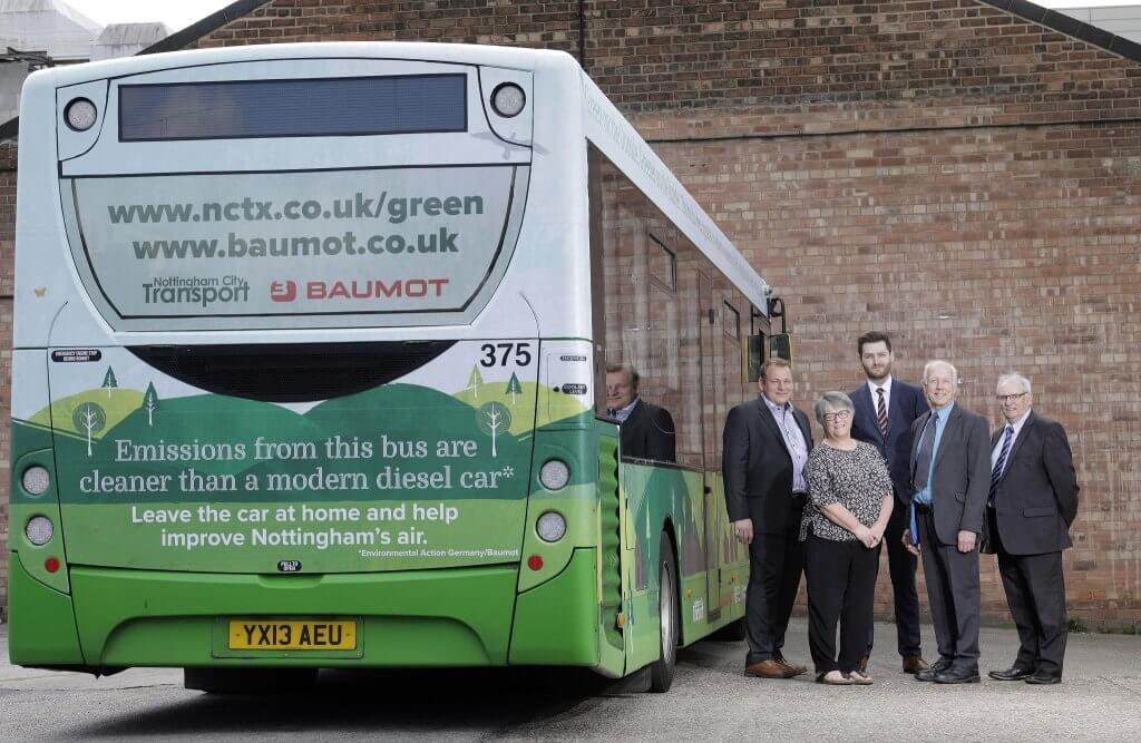 NCT's first retrofitted bus