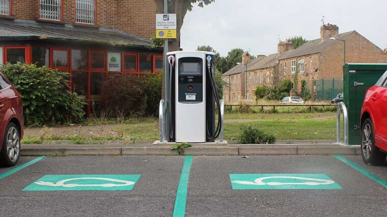 Charge points in Nottingham