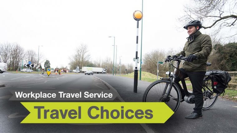 workplace travel service travel choices active travel
