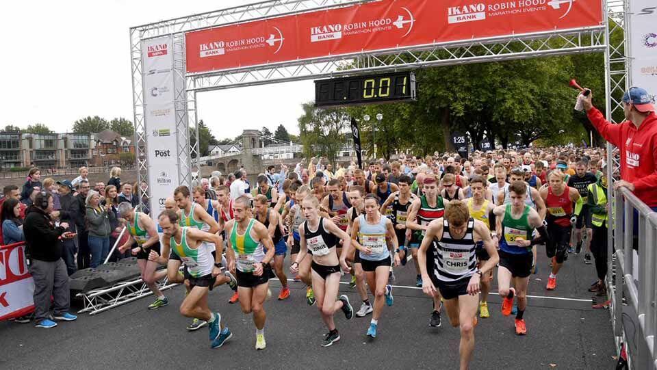 Nottingham half marathon