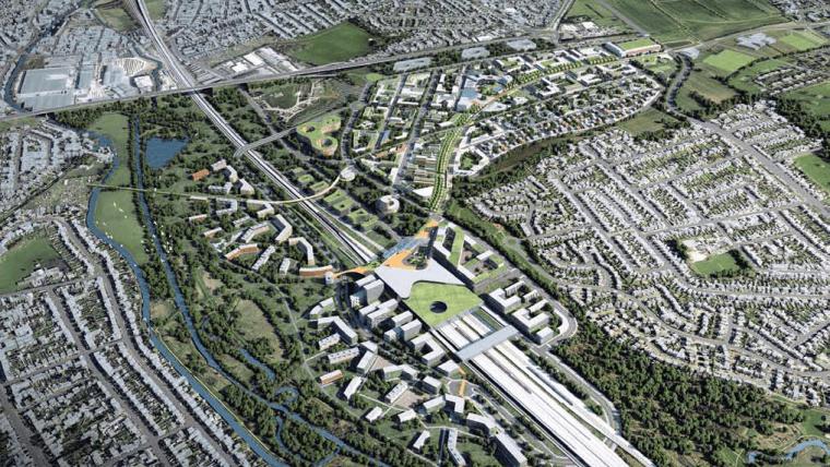 Toton Station CGI