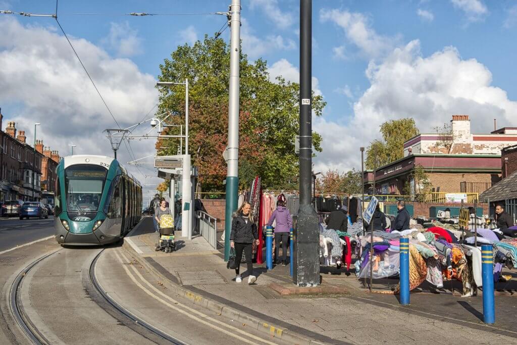 Hyson Green Market Tram