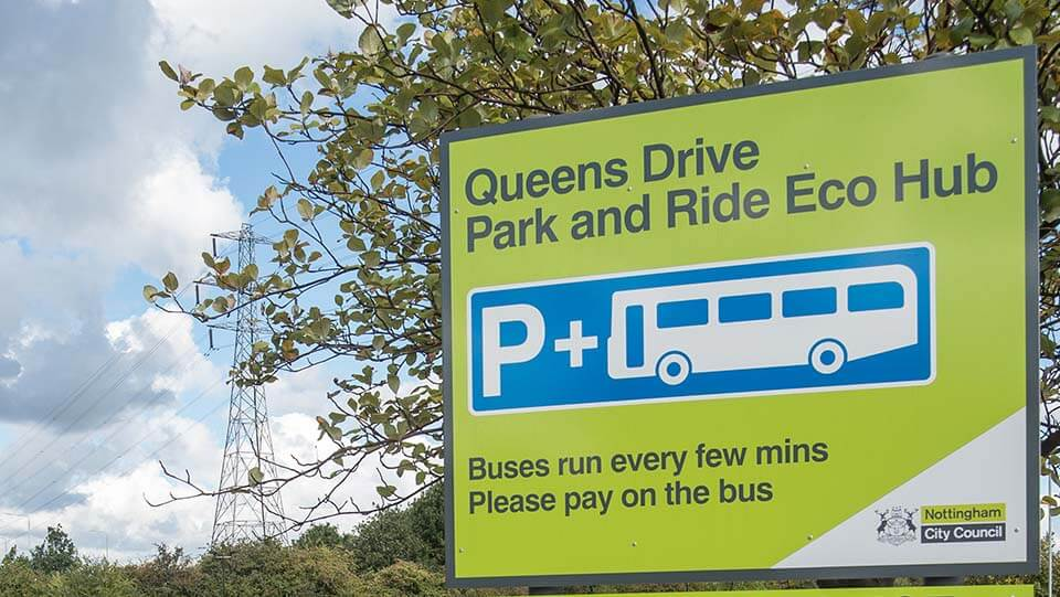 Queens Drive Park & Ride
