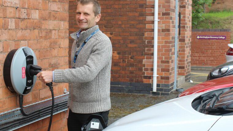 NHS Foundation Trust Charge Points