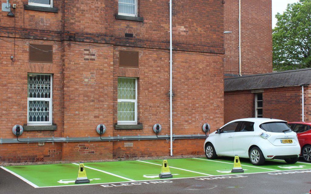 Charge Points at Nottingamshire NHS Foundation Trust