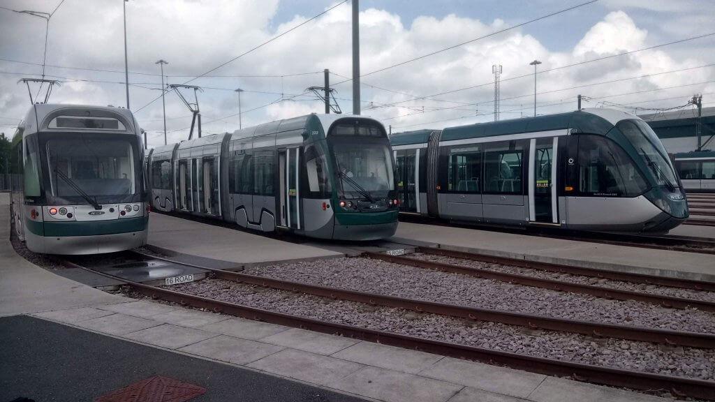 Original, revamped and new trams
