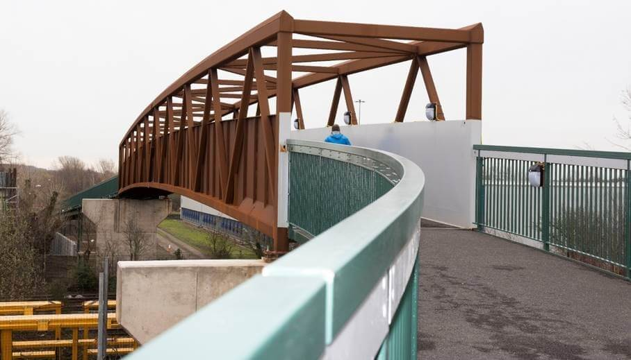 Stuart Adams cycle bridge
