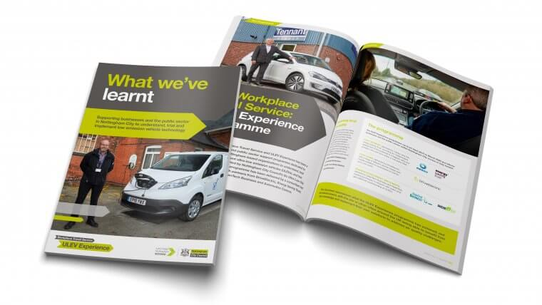 ULEV Experience brochure