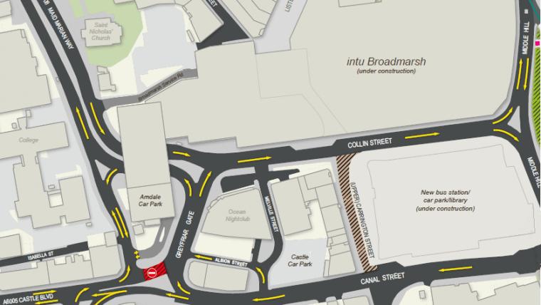 broadmarsh switch map
