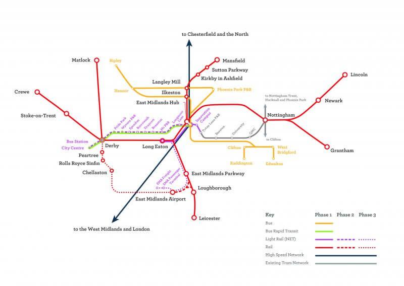 HS2 transport plans