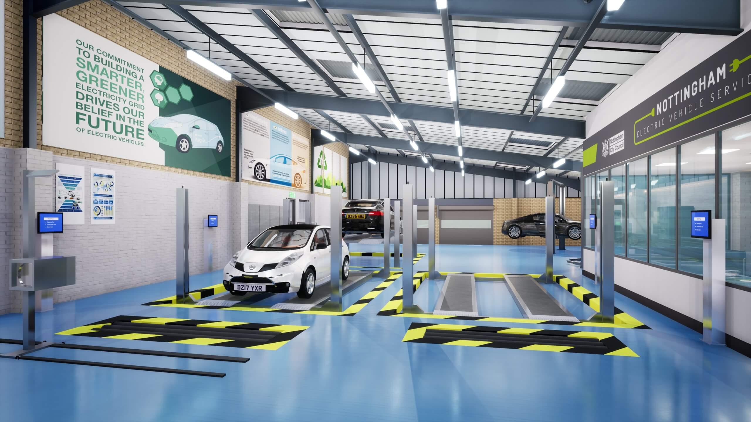 Concept image of NEVS centre