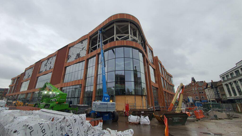 Broadmarsh under construction 2020