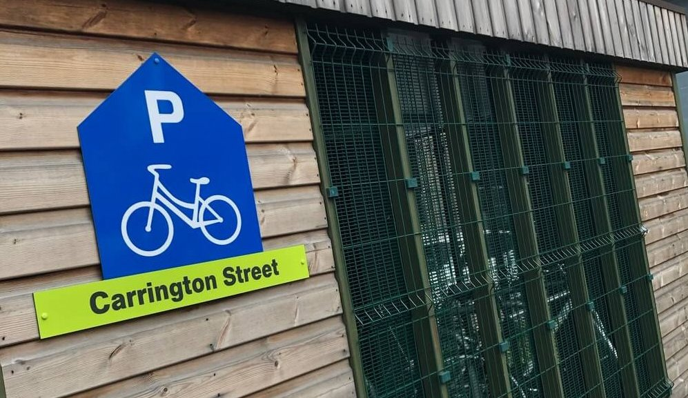 Nottingham cycle parks