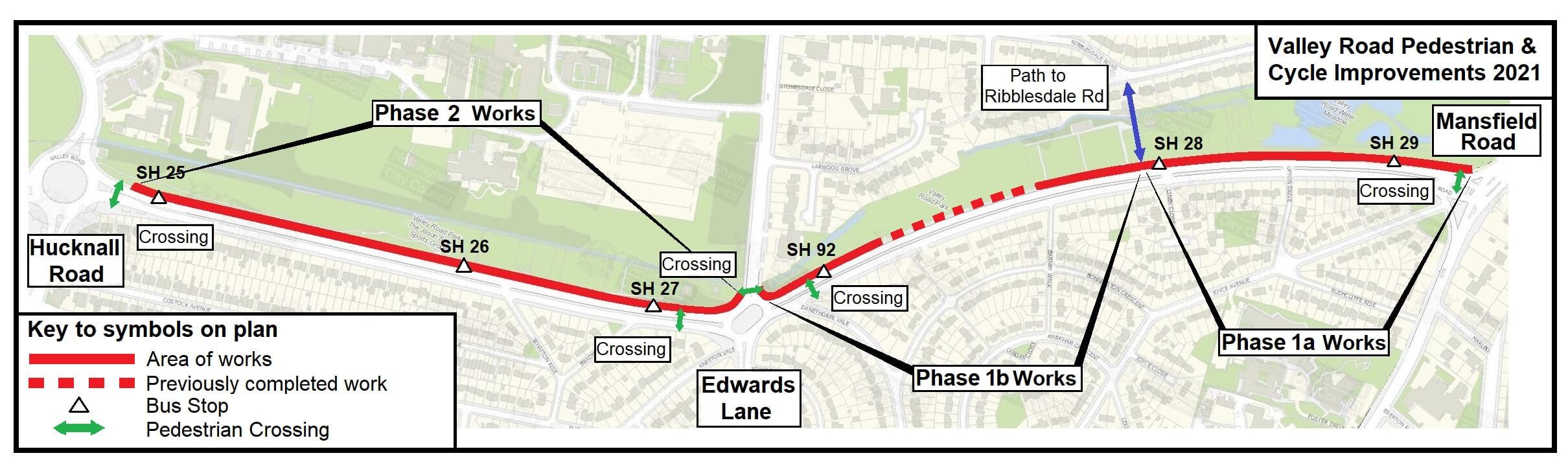 Valley Road plan