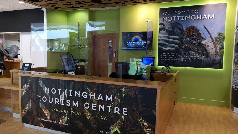 Nottingham Tourism and Travel Centre