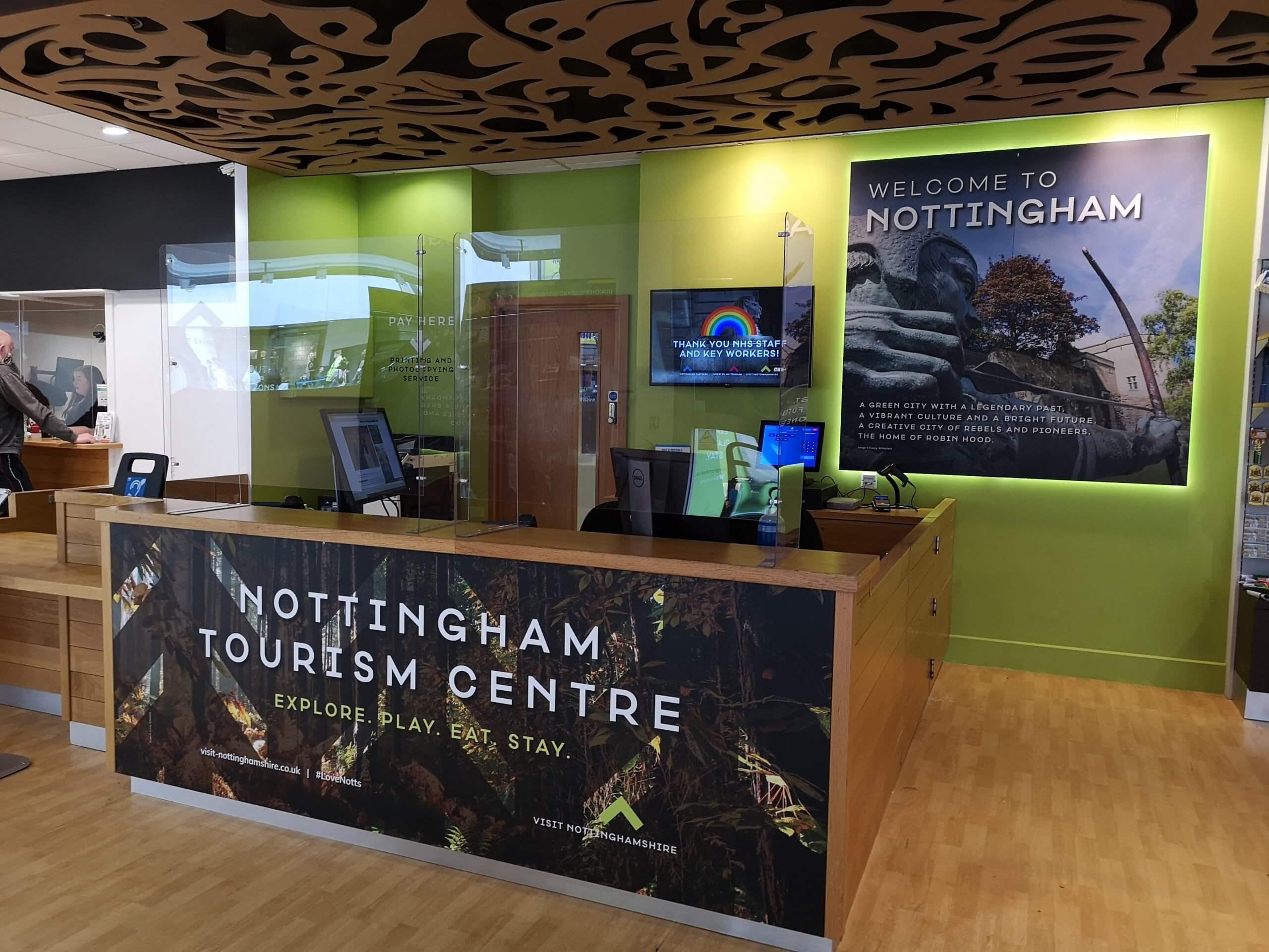 Nottingham Tourism and Travel Centre