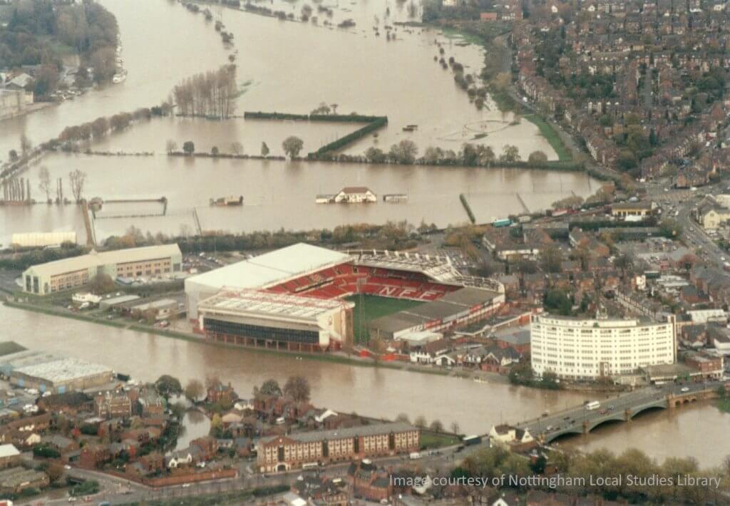 Trent floods in 2000