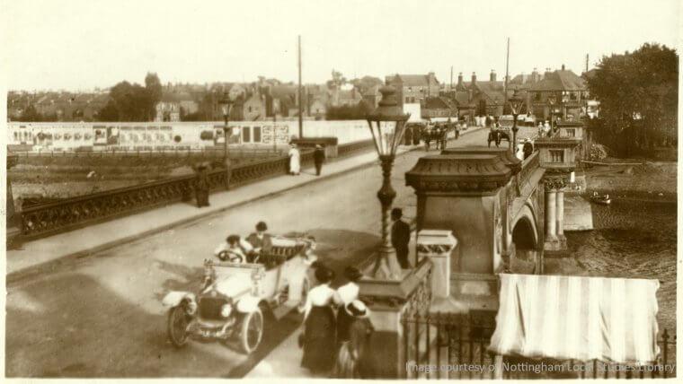 Trent Bridge c1912