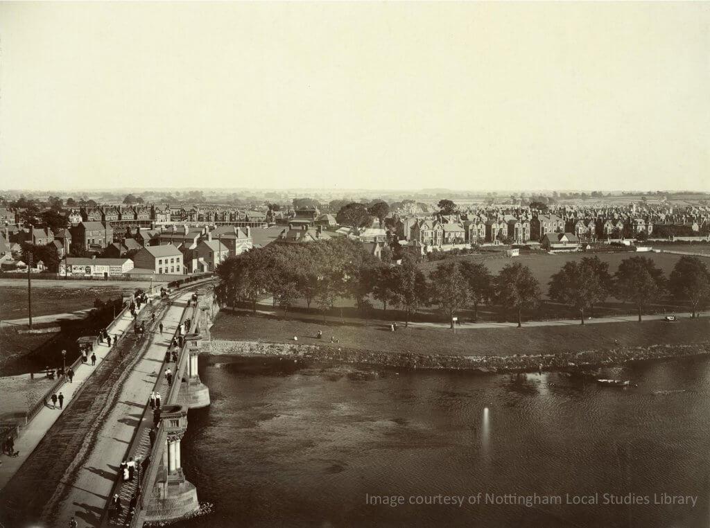 Bridge in 1901