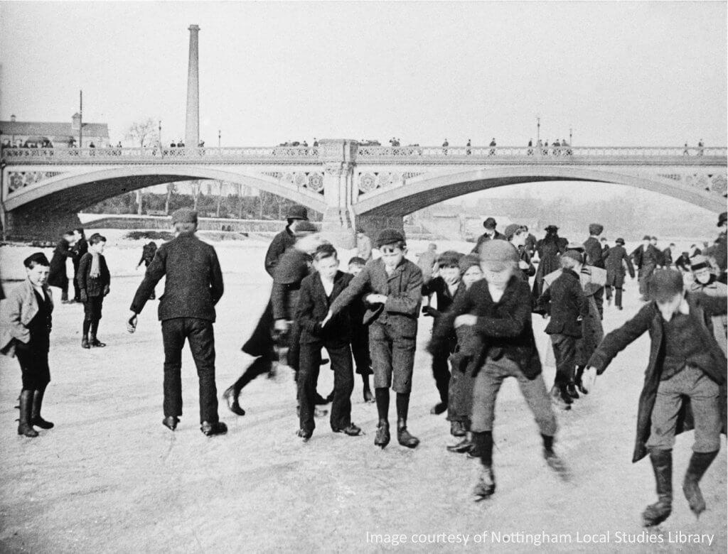 Skaters 1895