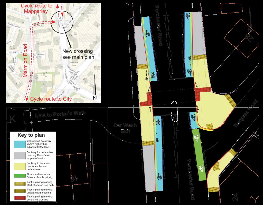 Porchester Road plan