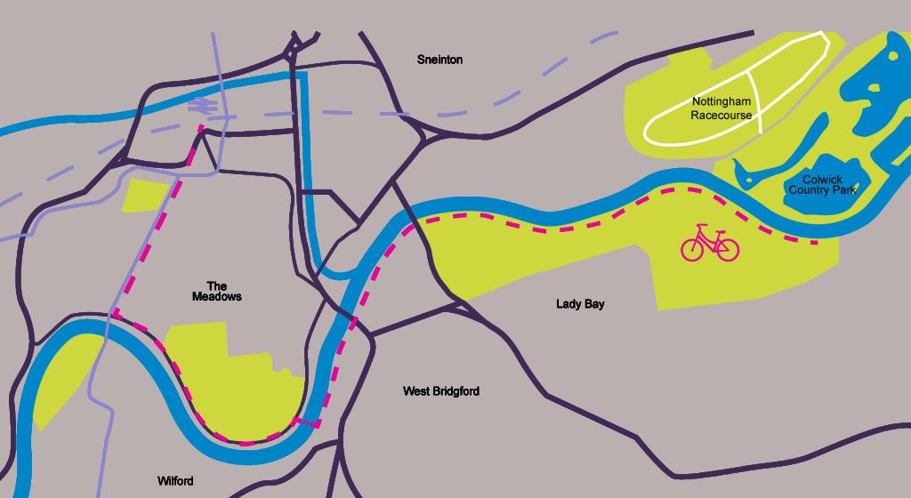 Holme Pierrepont route