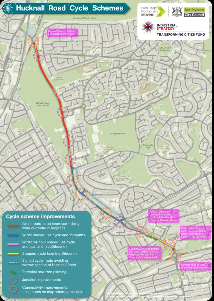 Hucknall Road improvements
